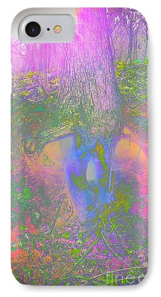 IPhone Case featuring the photograph Fairy Tree by Karen Newell