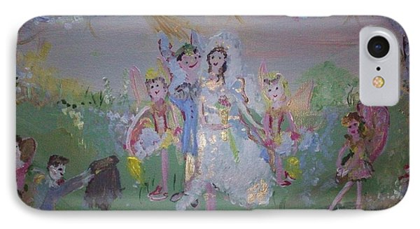 Fairy Wedding IPhone Case by Judith Desrosiers