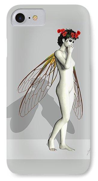 Fairy White  IPhone Case by Quim Abella