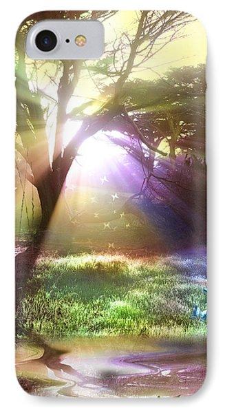 Fairyland Sunset IPhone Case by Alixandra Mullins