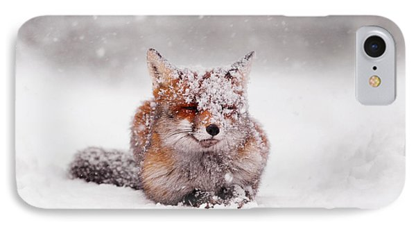 Fairytale Fox II IPhone Case by Roeselien Raimond