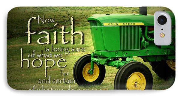 Faith And Hope Phone Case by Linda Fowler
