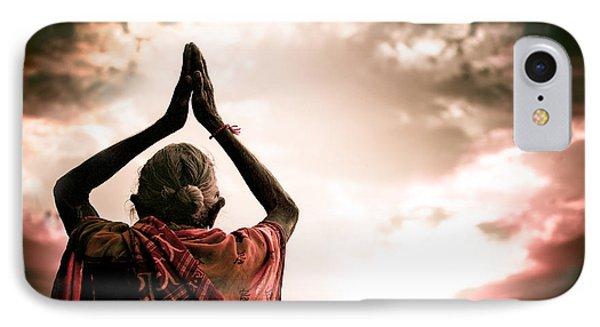 Faith And Prayers For Peace Phone Case by Nila Newsom