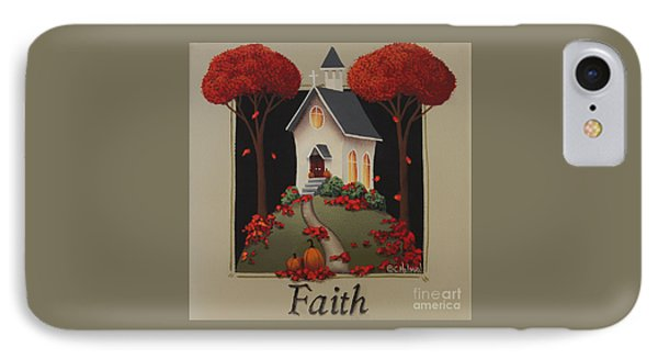 Faith Country Church IPhone Case by Catherine Holman