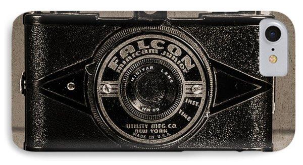 Falcon Minicam Junior IPhone Case by Jon Woodhams