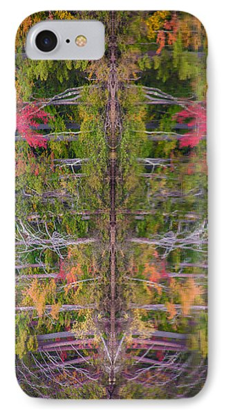Fall Abstract Phone Case by Karen Stephenson