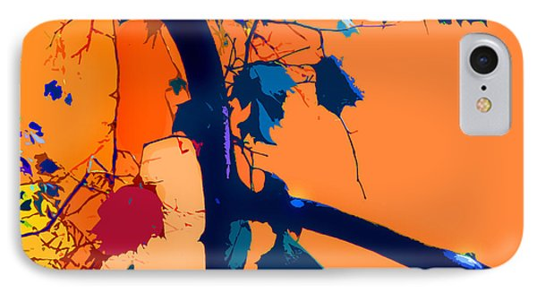 Fall Abstraction 5-2013 Phone Case by John Lautermilch