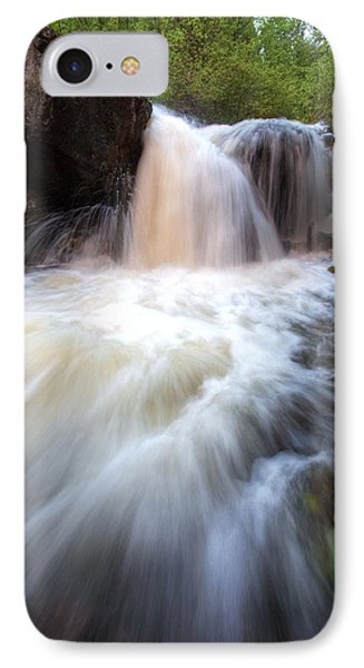 IPhone Case featuring the photograph Fall And Splash by David Andersen