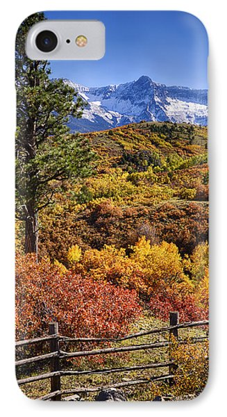 Fall At Dallas Divide IPhone Case by Priscilla Burgers