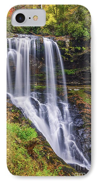 Dry Falls In Autumn IPhone Case by Anthony Heflin