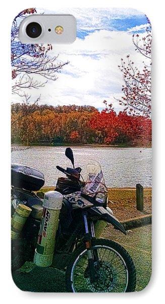 Fall At Fern Clyffe IPhone Case by Jeff Kurtz