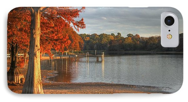 IPhone Case featuring the photograph Fall At Georgia Lake by Donald Williams