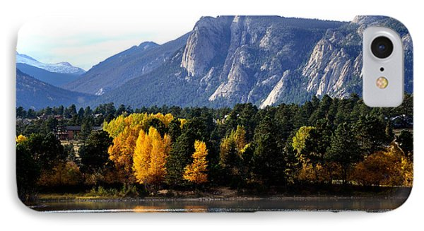 Fall At Lake Estes Phone Case by Tranquil Light  Photography