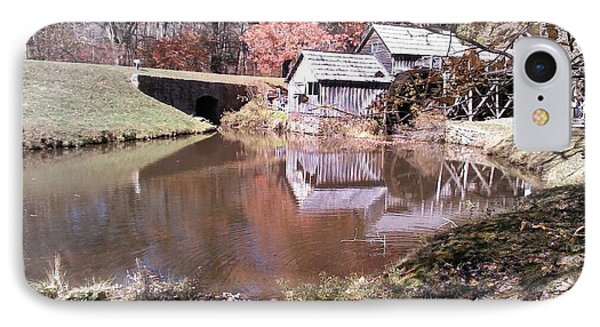 Fall At Mabry Mill By Angelia H Clay IPhone Case by Angelia Hodges Clay