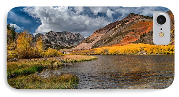 Fall At North Lake Phone Case by Cat Connor