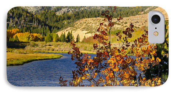 Fall At North Lake IPhone Case