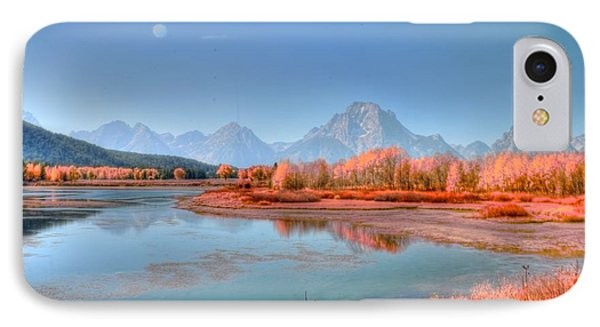 Fall At Oxbow Bend Phone Case by Kathleen Struckle