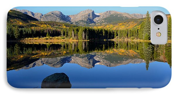 Fall At Sprague Lake Phone Case by Tranquil Light  Photography