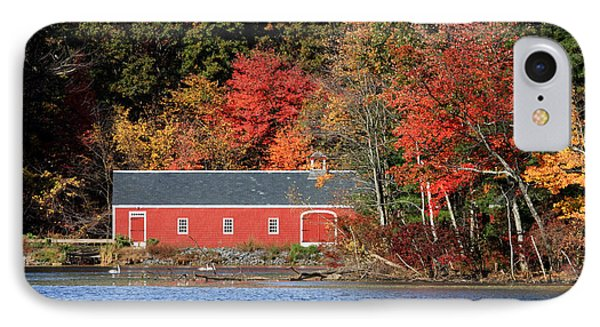 Fall At The Mill Phone Case by Jayne Carney
