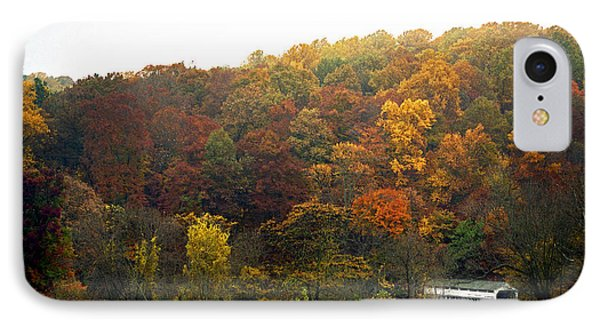 Fall At Valley Forge Phone Case by Skip Willits