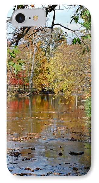 Fall  Begins IPhone Case by Kathy Gibbons