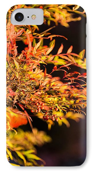 Fall Berries Phone Case by Mike Lee
