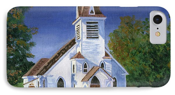 Fall Church IPhone Case by Lynne Reichhart