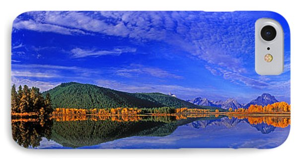 IPhone Case featuring the photograph Fall Color Oxbow Bend Grand Tetons National Park Wyoming by Dave Welling