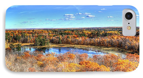 Fall Colors At Itasca State Park IPhone Case by Shawn Everhart