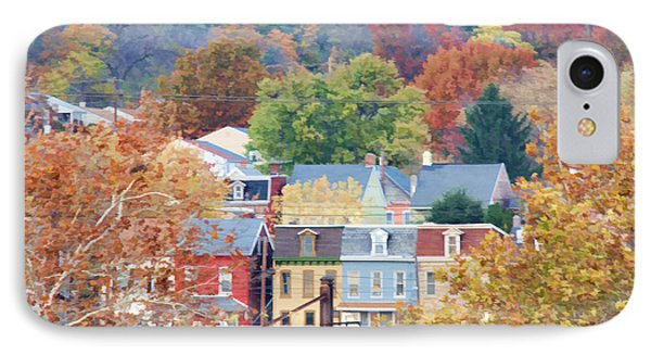 Fall Colors In Columbia Pennsylvania IPhone Case