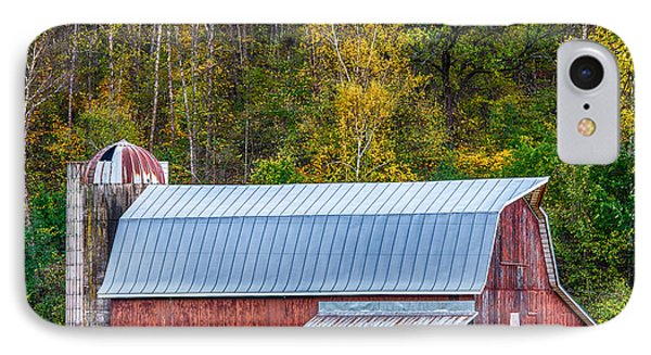 Fall Colors On The Farm IPhone Case by Paul Freidlund