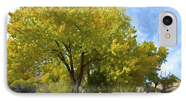 Fall Cottonwoods Phone Case by Dianne Phelps