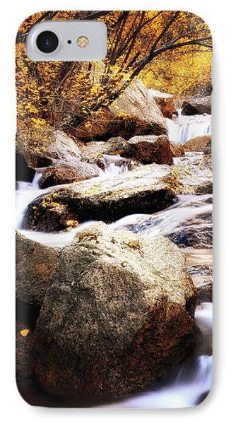 Fall Creek Canyon IPhone Case by The Forests Edge Photography - Diane Sandoval