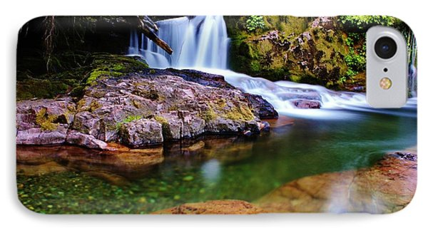 Fall Creek Oregon IPhone Case
