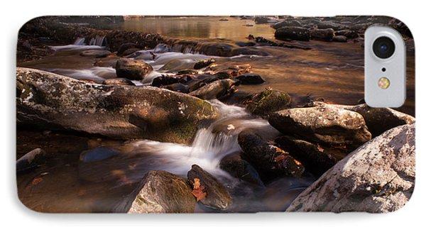 Fall Creek IPhone Case by Rebecca Hiatt