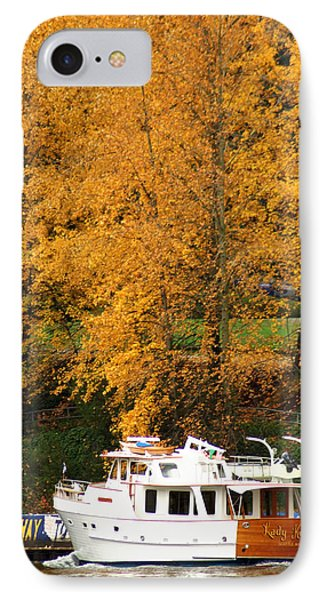IPhone Case featuring the photograph Fall Cruise by Erin Kohlenberg