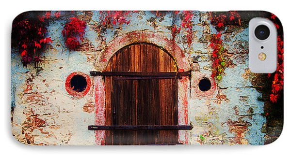 Fall Door IPhone Case by Ryan Wyckoff