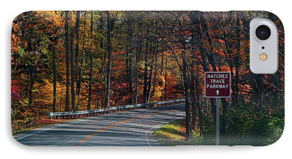 Fall Drive In Tennessee  1 IPhone Case