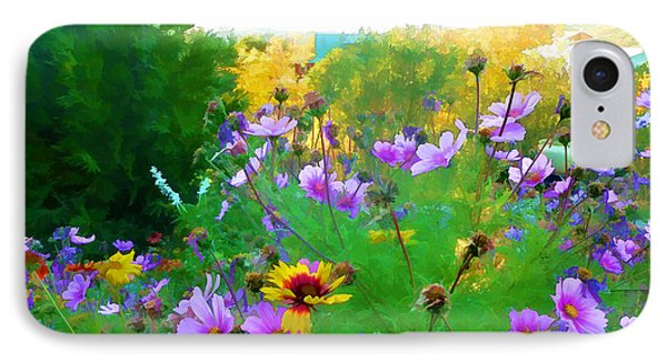 Fall Enters The Garden No 2 IPhone Case