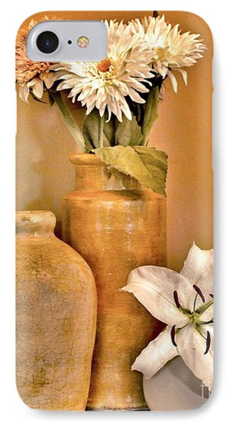 Fall Floral Bouquets IPhone Case by Marsha Heiken