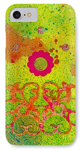 Fall Flowers Phone Case by Desiree Paquette