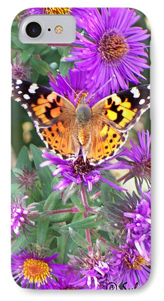 Fall Flutterby IPhone Case by Sylvia Thornton