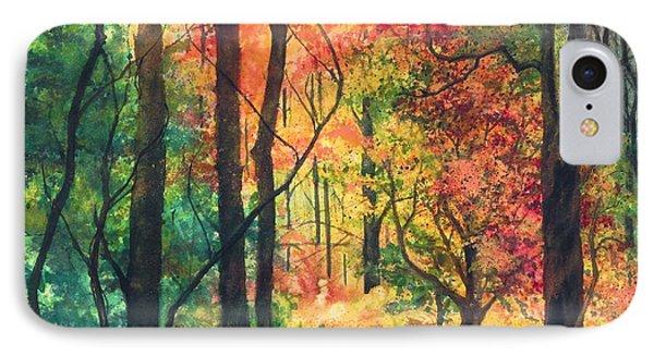 Fall Foliage Phone Case by Barbara Jewell