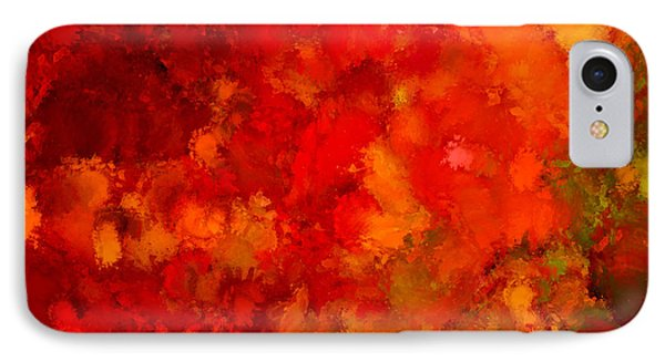 Fall Frolic IPhone Case by Lourry Legarde