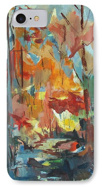 Fall From My Window IPhone Case by Betty Pieper
