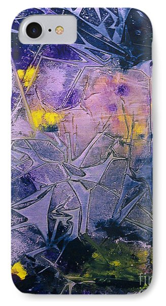 Fall Frost Dancing IPhone Case by Heather  Hiland