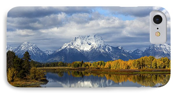Fall Glory At The Oxbow IPhone Case