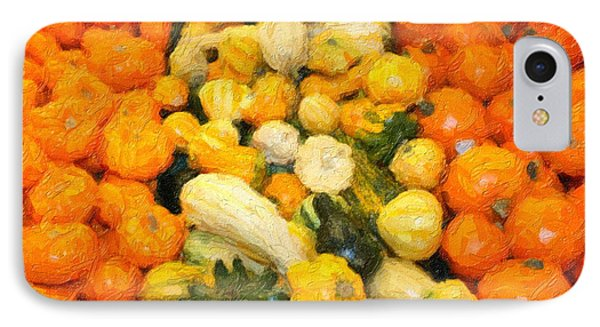 Fall Gourds IPhone Case by Gravityx9  Designs