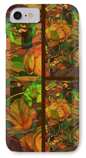 Fall Harvest IPhone Case by Cindy McClung