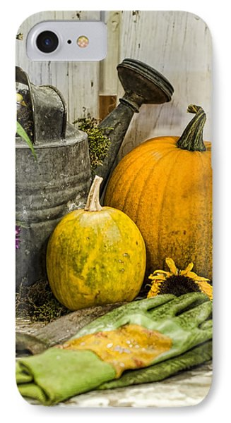 Fall Harvest Phone Case by Heather Applegate